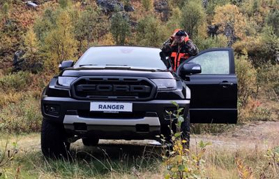 Jaktbilen Ford Ranger Raptor