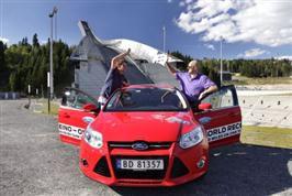 Nordmenn satte ny verdensrekord i økonomikjøring. Kautokein