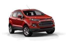 Ford viser EcoSport i Paris; ny SUV med småbilens praktiske