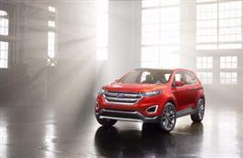 Ford Edge Concept viser ny stor SUV for Europa
