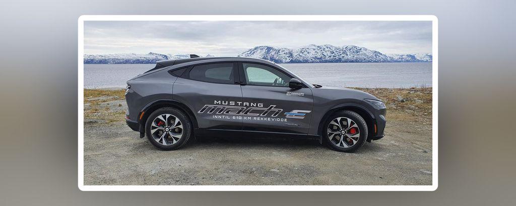 Prøvekjøring av Mustang Mach-E Alta