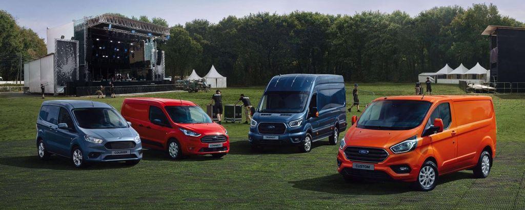 Ford varebil Harstad