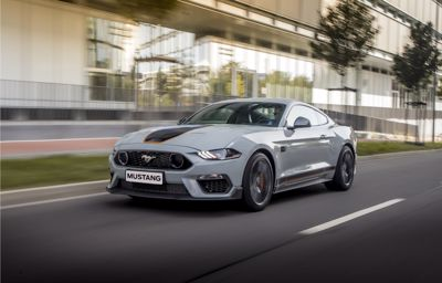Snart kommer nye Ford Mustang Mach 1 til Bergerkrysset Auto Mysen