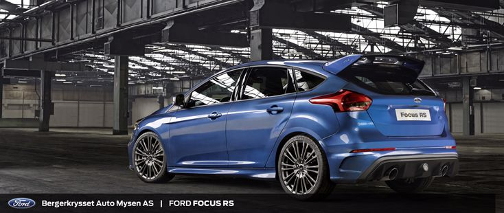 2016 Ford Focus RS - historie
