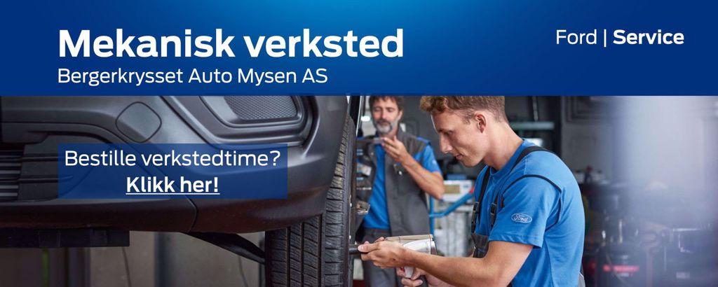 Mekanisk verksted - Bergerkysset Auto Mysen AS