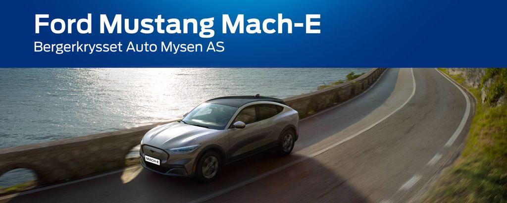 Prøvekjøring av Mustang Mach-E
