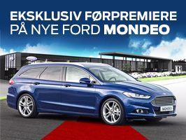 Eksklusiv førpremiere på nye Ford Mondeo