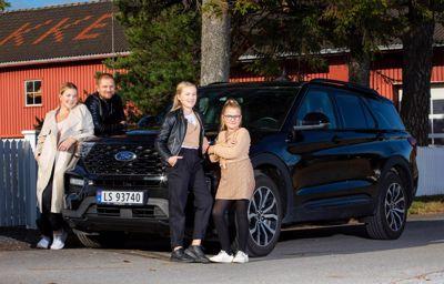 Endelig kan hele familien kjøre Ford