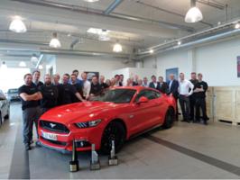 Lansering av nye Ford Mustang
