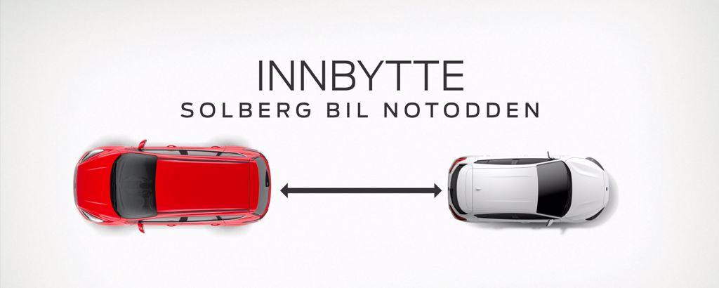 Innbytte - Solberg Bil Notodden