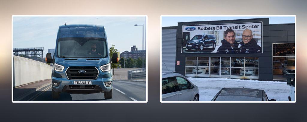 Solberg bil - Transit Senter
