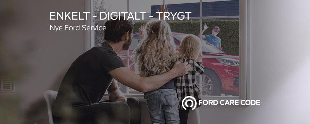 Ford service - Enkelt, digitalt og trygt