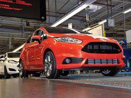 Ford starter produksjon av nye Fiesta ST