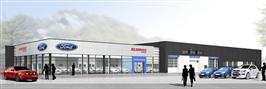 Åpning av nybygget til Bilservice Egersund AS