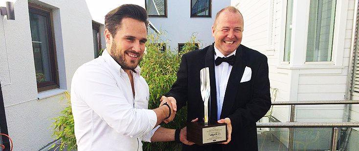 Bilservice Egersund mottok Chairman's Award 2013