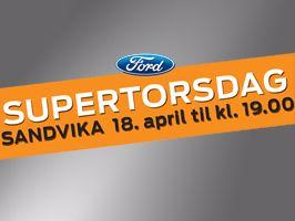 SUPERTORSDAG hos RøhneSelmer Sandvika 18. april