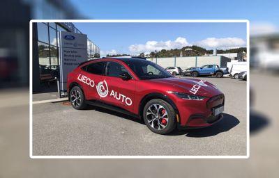 Nå har Mustang Mach-E kommet til Lieco Auto