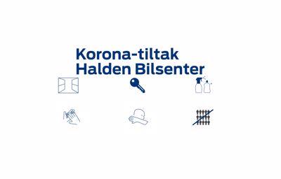 Oppdatering: Nye korona-tiltak hos Halden Bilsenter