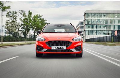 **Her er nye Ford Focus ST stasjonsvogn**