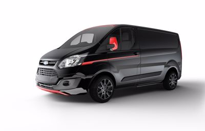 Ford lanserer flere nye eksklusive og sportslige varebiler