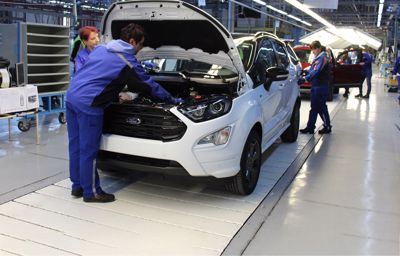 Nå er produksjonen av nye Ford EcoSport i gang!