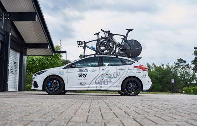 Ford utvider samarbeidet med Team Sky