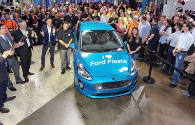 Her produseres det en ny Fiesta hvert 68. sekund!