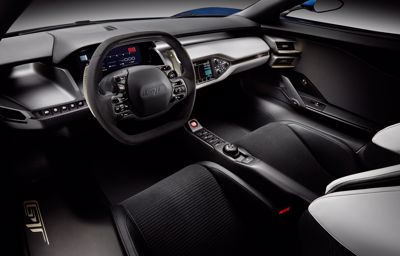 Ford GT får fremtidens dashbord