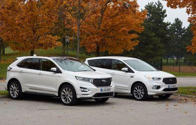 Ford lanserer to nye luksus-SUVer!