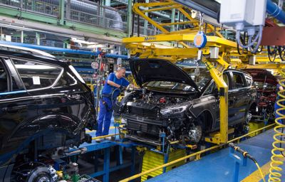Ødelegger med vilje på Fords gigantfabrikk