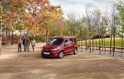 Her er den nye familiebilen Ford Tourneo Connect