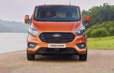 Ford avduket i dag nye Ford Transit Custom