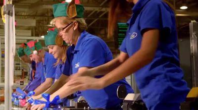 Ford-fabrikk blir julenissens verksted