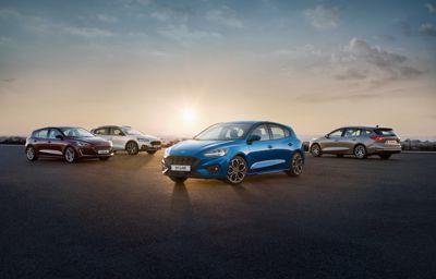 **Mange elektrifiserte Ford-nyheter avdukes 2. april; blant annet nye Focus og Fiesta som EcoBoost hybrid**