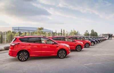 Europa-lansering av ny SUV på Nordkapp!
