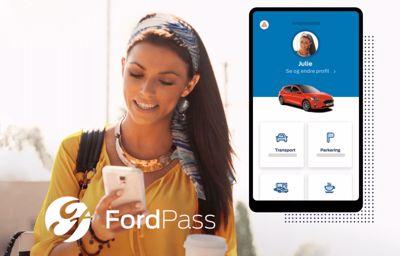 **Få full kontroll over bilen med nye FordPass Connect**