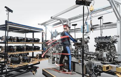 Ford bruker avansert bevegelsesteknologi for å forbedre bilproduksjonen