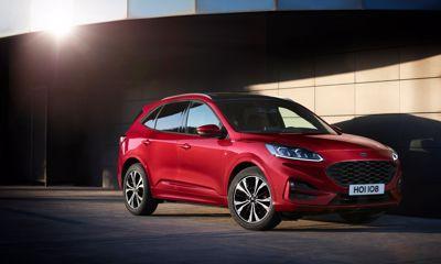 Her er prisene på nye Ford Kuga ladbar hybrid