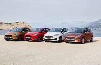 Prisene klare på nye Ford Fiesta