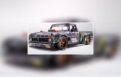 900 HK Ford pickup med rekordstor 3D-printet motordel