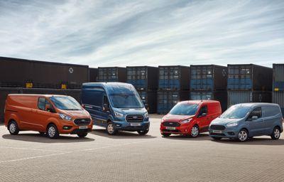 **Spar penger og leveringstid med nye Ford Proff+ varebiler**