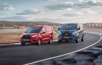 **Ford fornyer Transit Custom Sport – sterkere og like tøff**