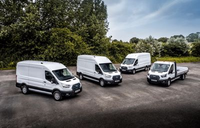 Nå starter snart testing av nye Ford E-Transit i Norge
