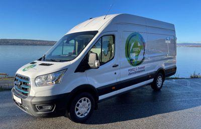 Nye Ford E-Transit med Norgespremiere på Oslo Motorshow: Setter en ny standard i klassen
