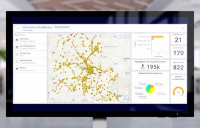 Fords nye RoadSafe-konsept: Kan påvise steder med ekstra høy risiko for trafikkulykker