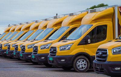 Oda med storinnkjøp av Ford Transit varebiler: Viktig skritt på veien mot helelektrisk transport