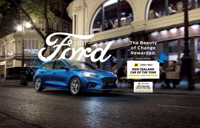 Ford Focus wins AA Driven New Zealand Car of the Year award