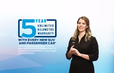 Ford New Zealand to phase in a new five-year warranty