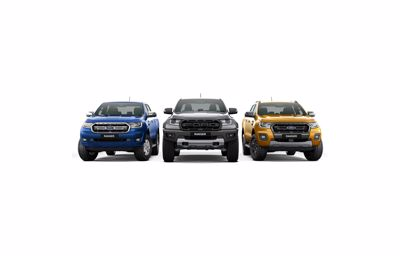 Now standard on 2019.75MY Ford Ranger and Ranger Raptor: Autonomous Emergency Braking with Pedestrian Detection