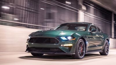 The Ford Mustang Bullitt is our Top Coupe of 2019